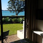 View from waterfront bedroom.