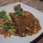 Traditional Indonesian chicken dish selected by chef Kadek