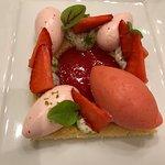 Variation von der Erdbeere