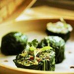 Pok Choy Dumplings
