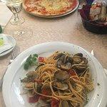 spagetti con frutti di mare