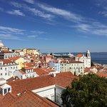 Beautiful view of Lisbon