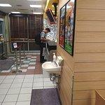 A nice small hand-wash area