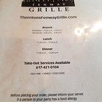 Foto de Thornton's Fenway Grille
