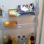 Mini Bar and fridge