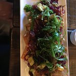 Ahi Poke Nachos - great flavors and textures