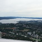 Amazing views and a nice journey upto the ski jump! It's incredibly high