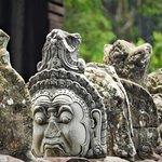 Demon status at North-Gate of Angkor Thom