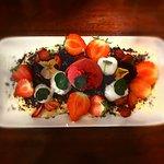 Strawberry & Elderflower dessert