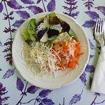 Gemischter Salat zum Tagesmunue