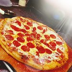 Every Monday you can grab a large one topping pizza for only $9.99!