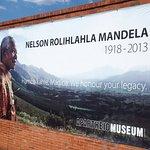 Wir hatten zudem das Privileg einer temporären Nelson Mandela Ausstellung