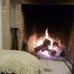 Warming fire in Pata Negra