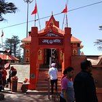 akhoo Temple is an ancient temple in Shimla, dedicated to Lord , Hanuman. It is situated on Ja