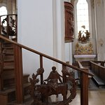 The starway to the pulpit