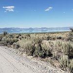 entrance road, Mono Lake Tufa State Natural Reserve, Lee Vining, CA, June 2018
