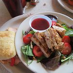 It's 1/2 a Memphis Thang sanwich and 1/2 summer salad