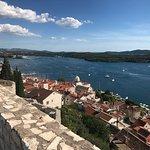 Blick vom Fort auf die Stadt