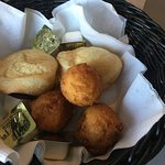 bread basket - hush puppies were very good - wish we had more