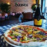Cucinos Italian Restaurant. Authentic Italian food including gluten free pizzas & pastas