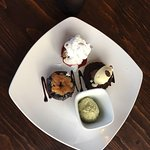 The dessert sampler is brilliant!