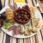 Great Malta Sampler plate!