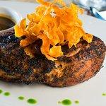 Grilled Creole Spiced Pork Chop
