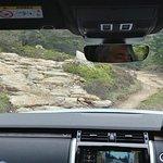 The Rock Climb, approach