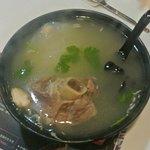 Pork knuckle soup