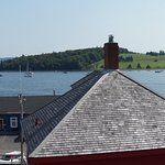 Wonderful view of Lunenburg harbour from the bedroom deck