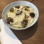 risotto and mushrooms