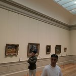 Rooms full of Impressionist artists