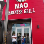 My son at NAO Japanese Grill