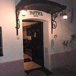 ホテルへの入り口