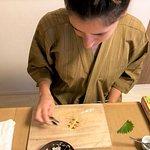 artistic Temari sushi making