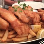 Amazing family dinner, great fish & chips