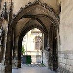 A entrada exterior