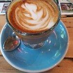 The Cortado- espresso with sweet condensed milk- AMAZING!!