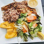 Everything on this plate was amazing!!! Ask for the Red Snapper