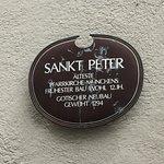 St. Peter's Church - sign