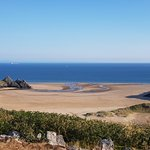 Foto de Three Cliffs Bay Holiday Park
