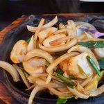 Sizzling Scallops