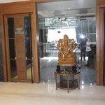 Lord Ganesh idol at Haldiram Food City, Ballygunje, Kolkata.