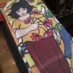 Table napkin, theme coordinated!