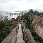 výhled z hradeb