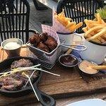 Black Angus Steak & Chicken Wings