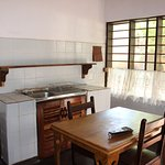 The Executive Rooms also have a small kitchen.