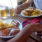All day brunch and fish finger sandwich