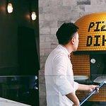 Pizzeria Dihyang pizzaiolo