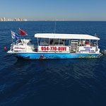 Sea Experience II, our custom 45' dive boat.